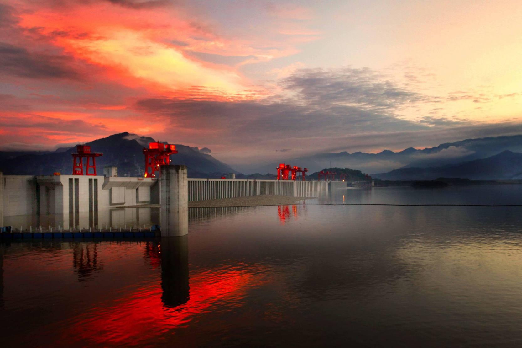 三峡大坝-横版