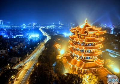 武汉大学、楚河汉街、户部巷、东湖听涛、木兰天池高铁品质4天