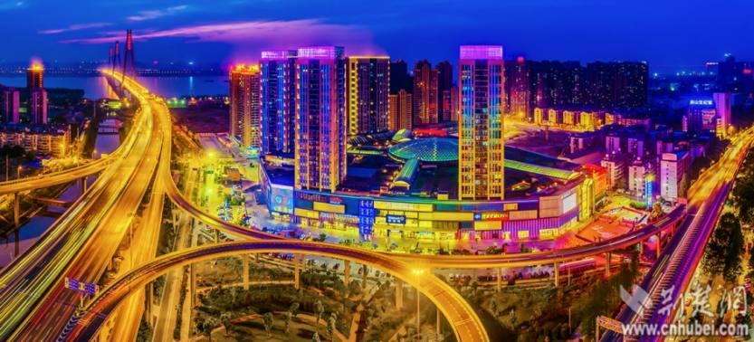 武汉城市 夜景