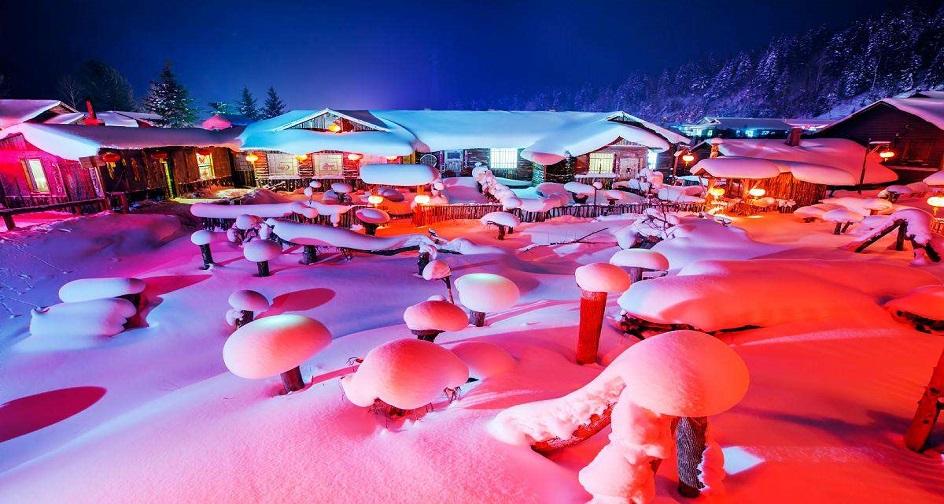东北过大年--冰城哈尔滨、亚布力滑雪、中国雪乡双飞六日游