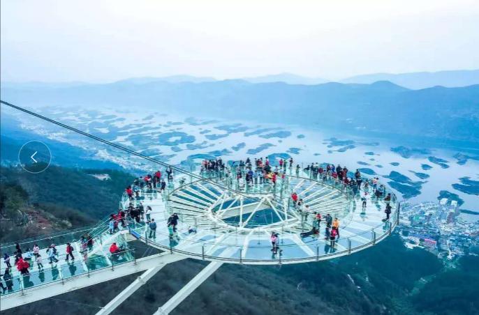 武汉周边游 船游仙岛湖美景、探密天空之城全景深度纯玩二日游 仙岛湖A线+天空之城